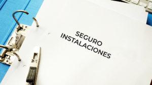 Contratación de seguros de instalaciones mecánicas