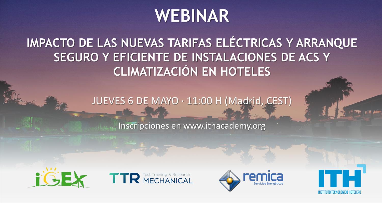 Webinar Impacto de las Nuevas Tarifas Eléctricas
